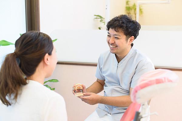 すべての治療に、歯周病ケアを